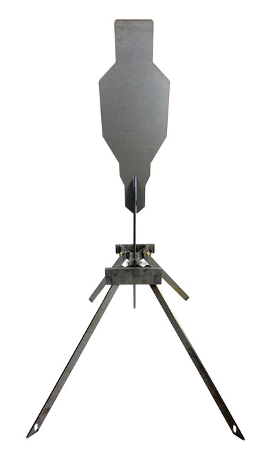 "Evil Roy® Target System - 3/8"" AR550 9.6""x20"" Silhouette Target"