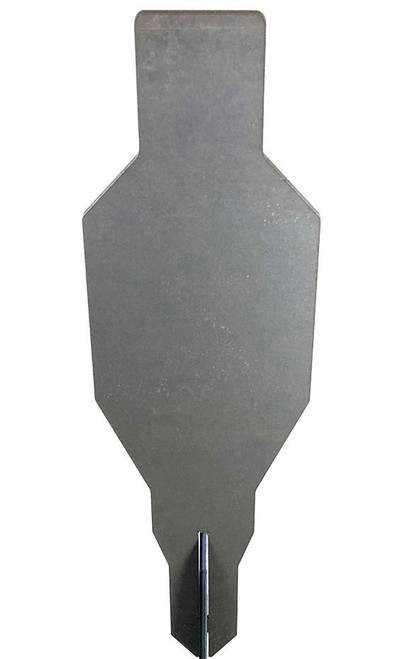 """Evil Roy® Target System - 3/8"""" AR550 9.6""""x20"""" Silhouette Target Only"""