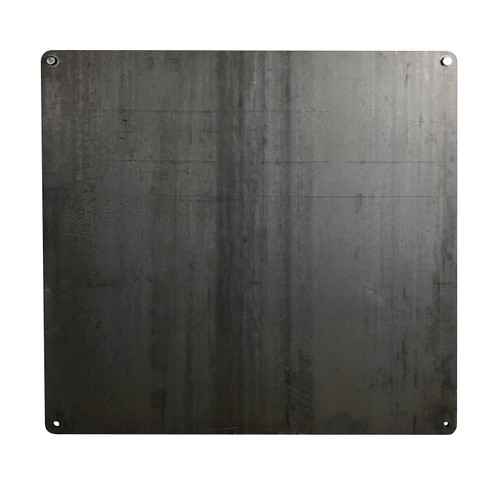 "3/8"" AR550 Steel Target 36""x36"" Gong"
