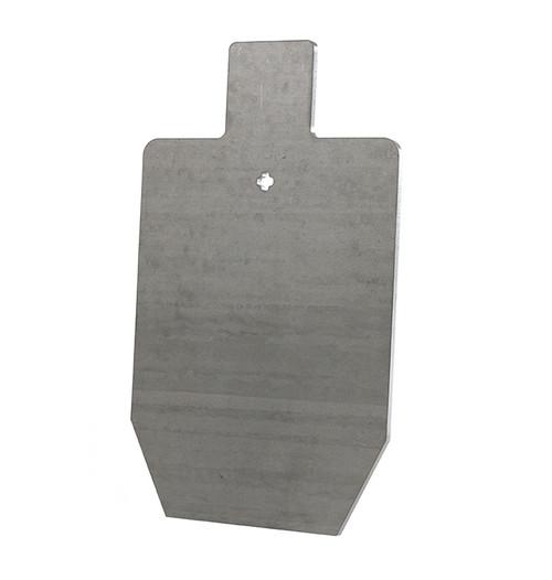 """3/8"""" AR500 Steel Target - 12""""x20"""" Static Silhouette Target"""