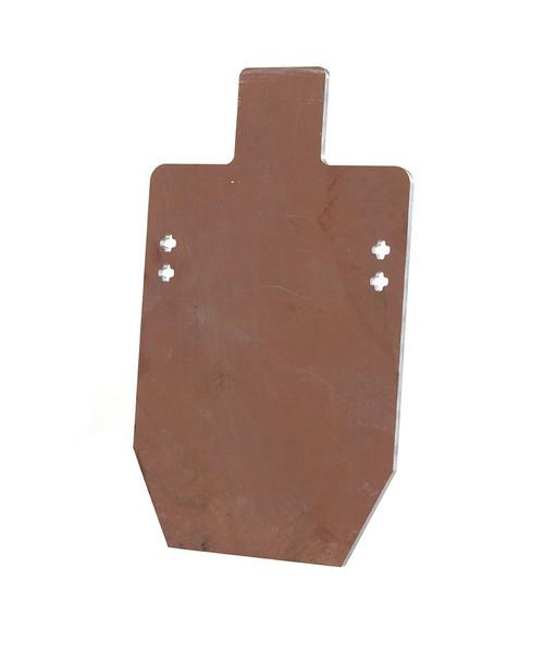 "1/2"" AR550 Short Range Rifle Target - Target Only"