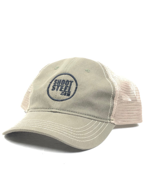 ShootSteel OD/Khaki Trucker Hat