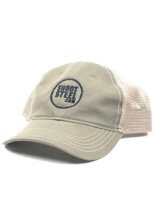 ShootSteel OD/Khaki Trucker Hat