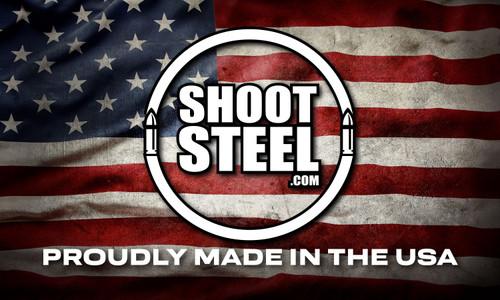 "ShootSteel.com 5""x3"" USA Sticker"