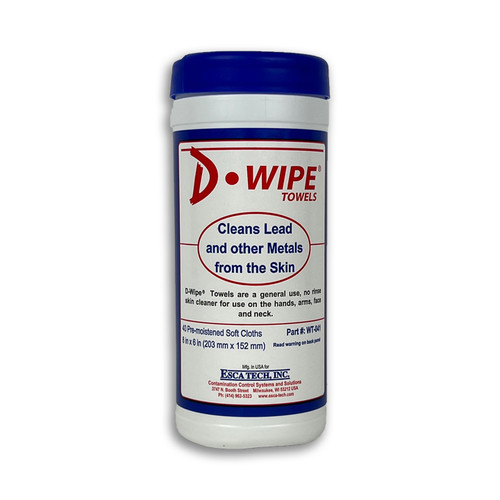 D-Wipe Lead Removal Towels