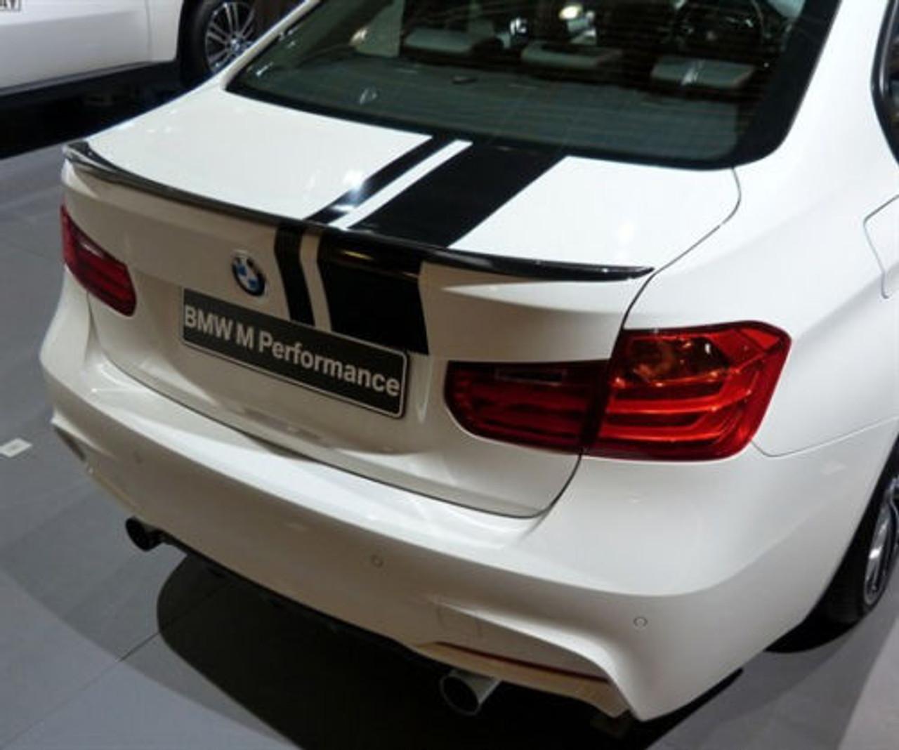 BMW M Performance Rear Deck Spoiler for F30 Sedan & F80 M3