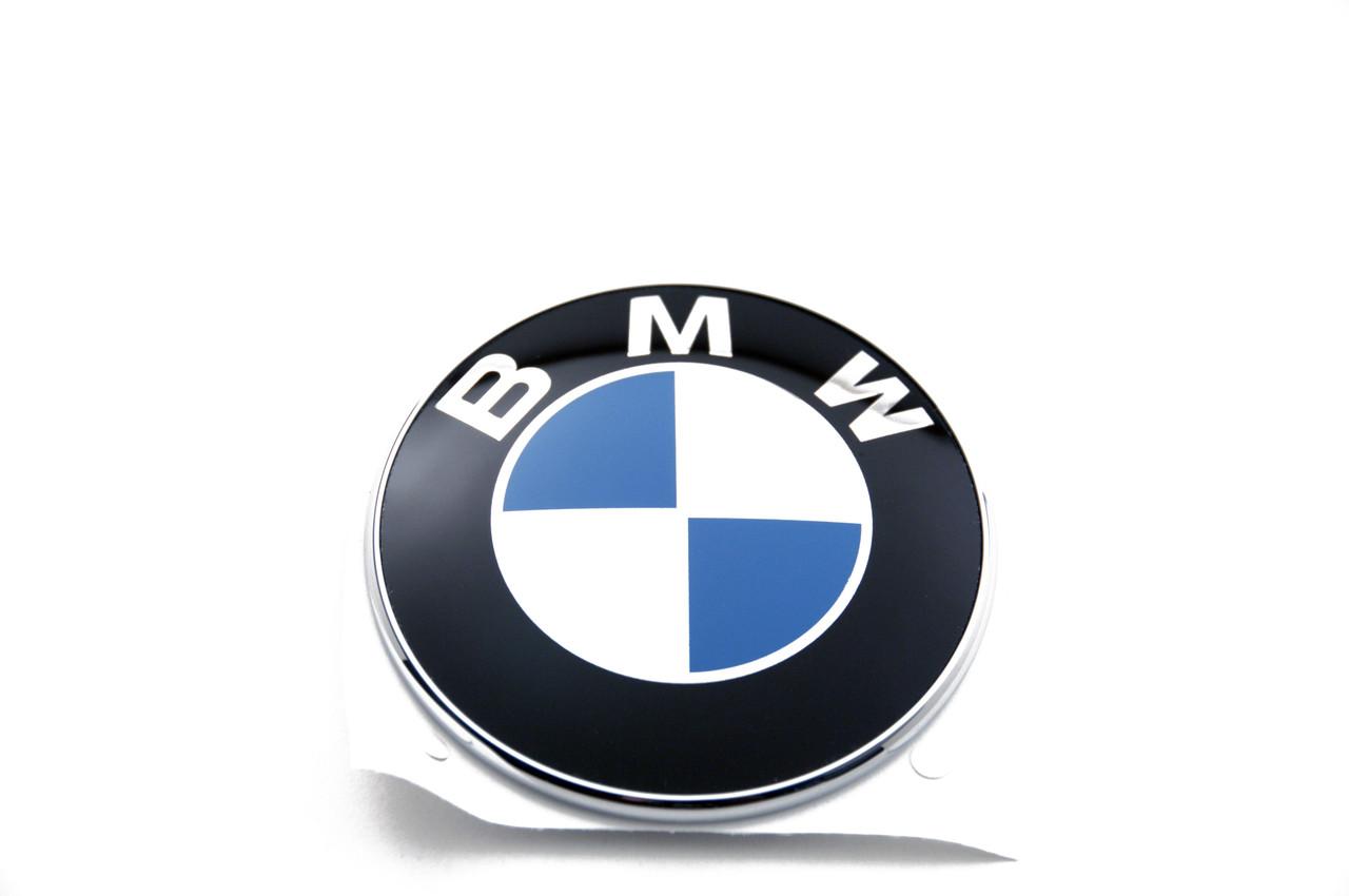 BMW Side Grill Fender/Trunk Lid Emblem 78 mm Logo Badge Roundel
