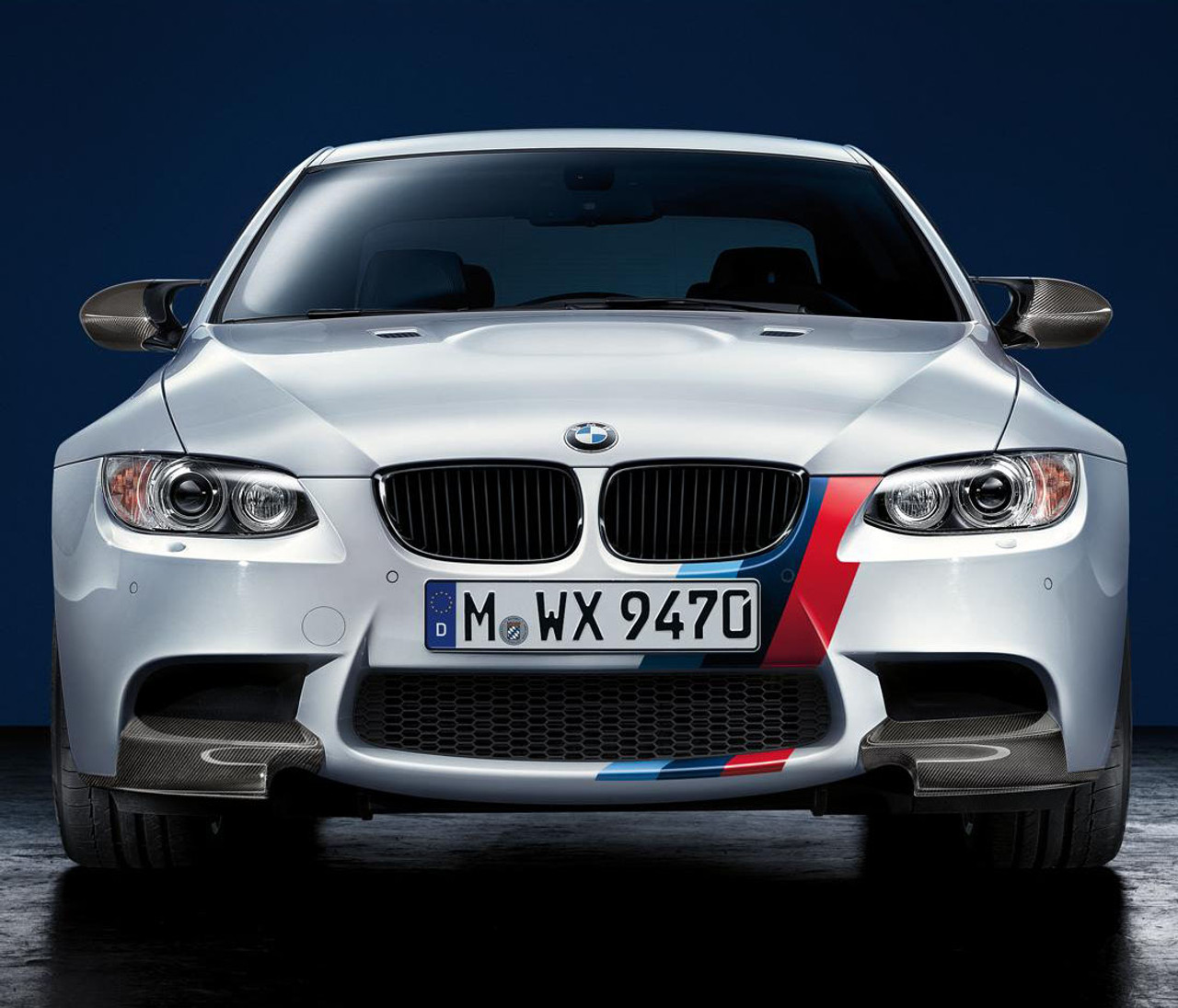 M Color Stripe Hood Side Sticker Decal For BMW M3 M4 F32 F82 E92 F80 G20 E90 F22