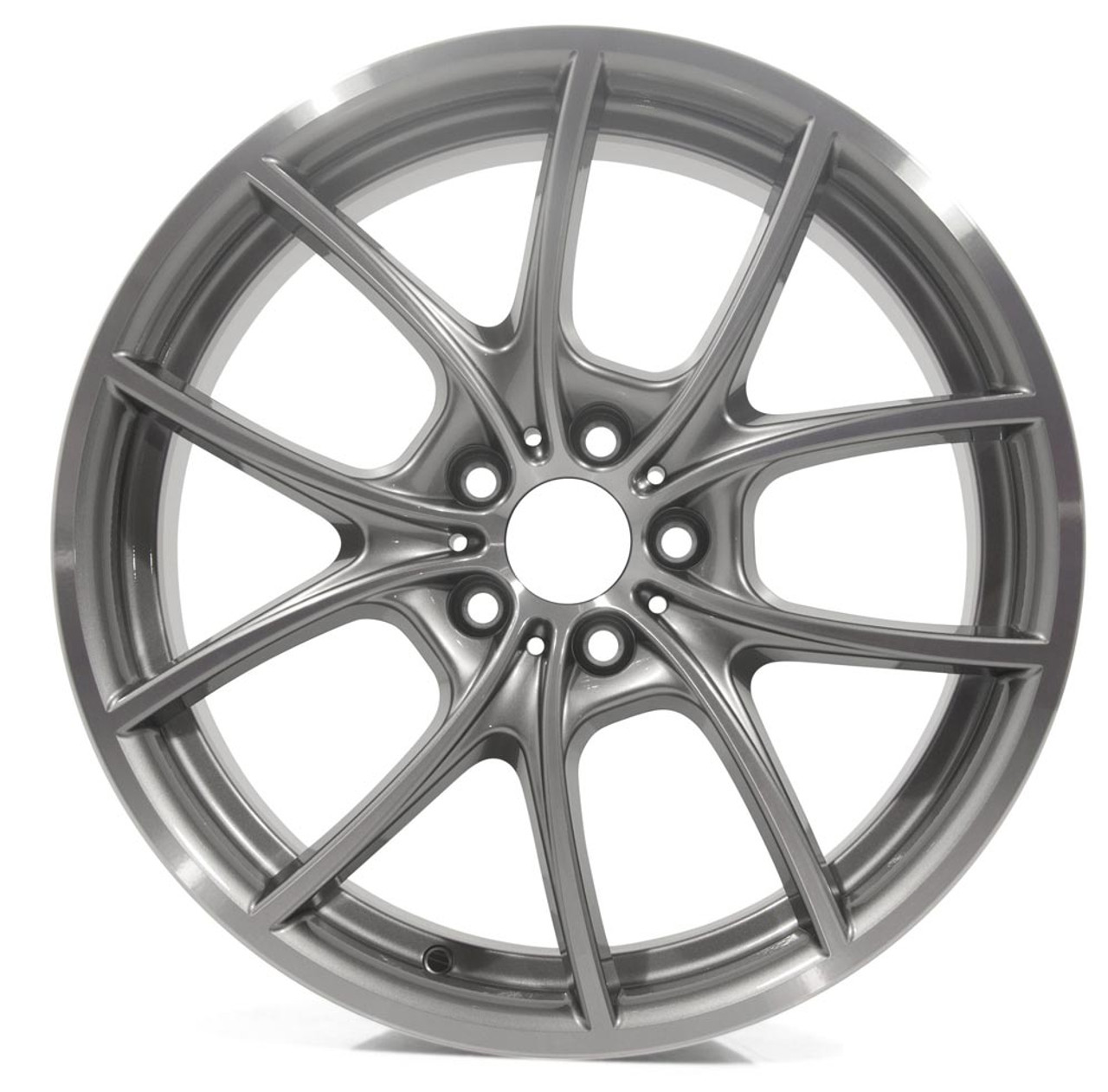 BMW  20x8.5 Front Wheel, V-Spoke 356, Bicolor