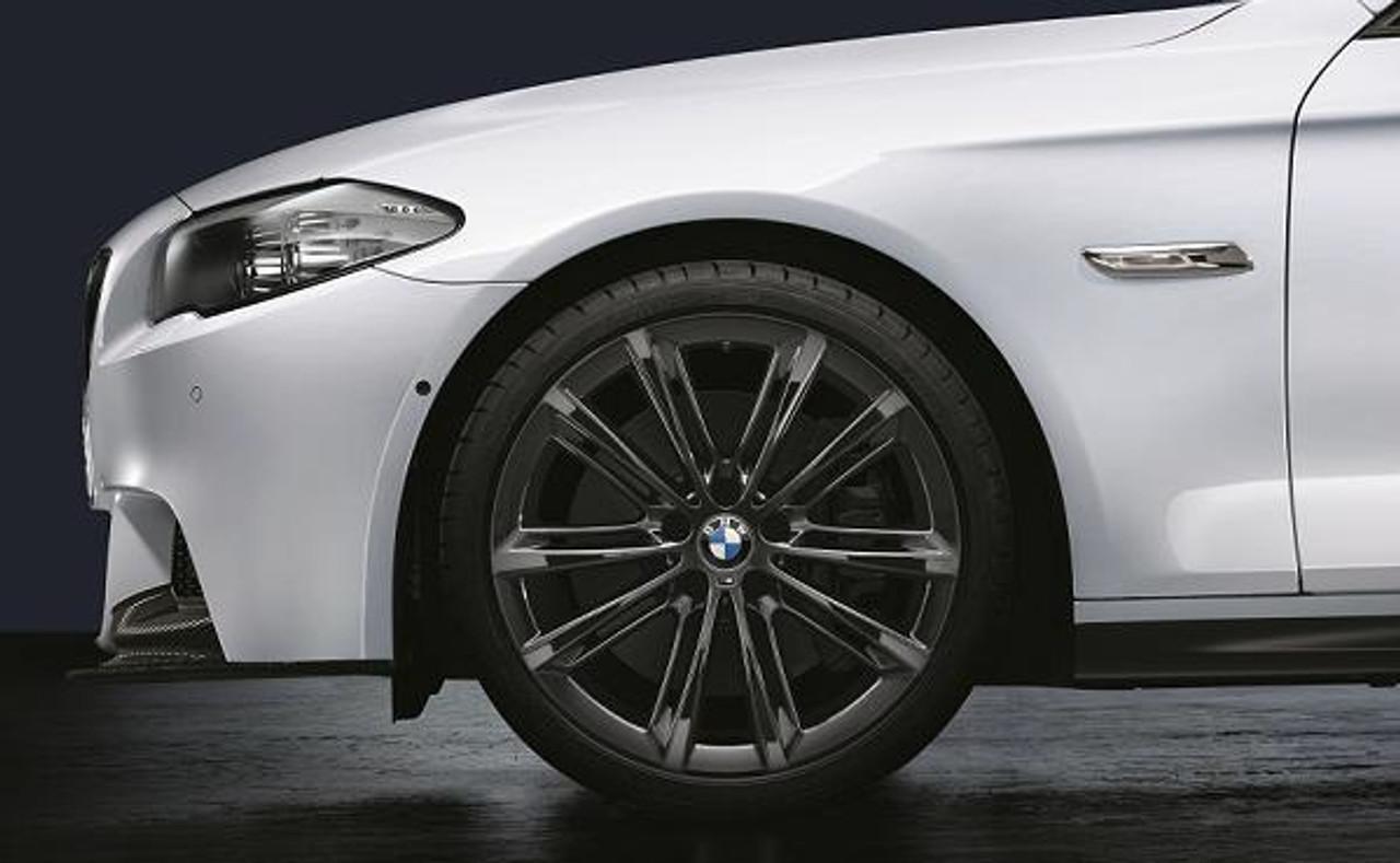 BMW 20x8.5 Front Wheel, V-Spoke 464M, Black