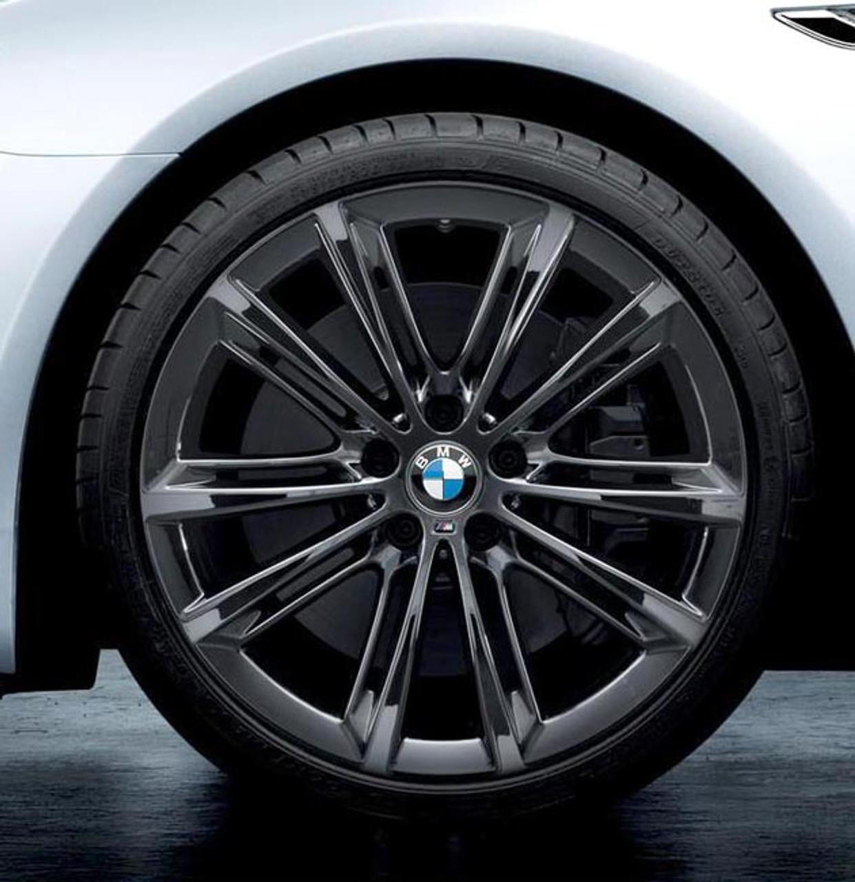BMW 20x9 Rear Wheel, V-Spoke 464M, Black