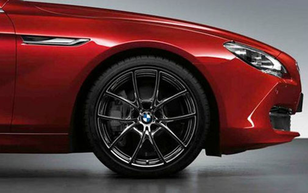 "BMW 20x8.5"" Front Wheel, V-Spoke 356, Black"