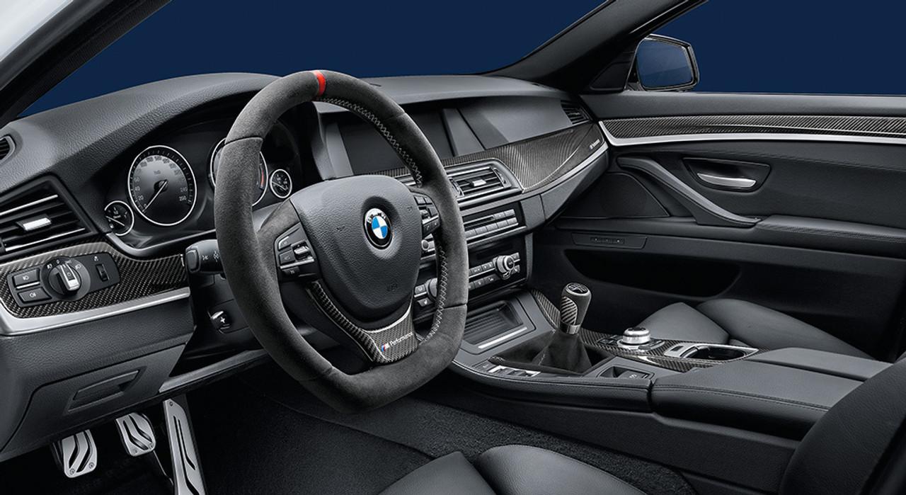 Genuine Bmw M Performance Carbon Fiber Interior Trim Kit 51952250707
