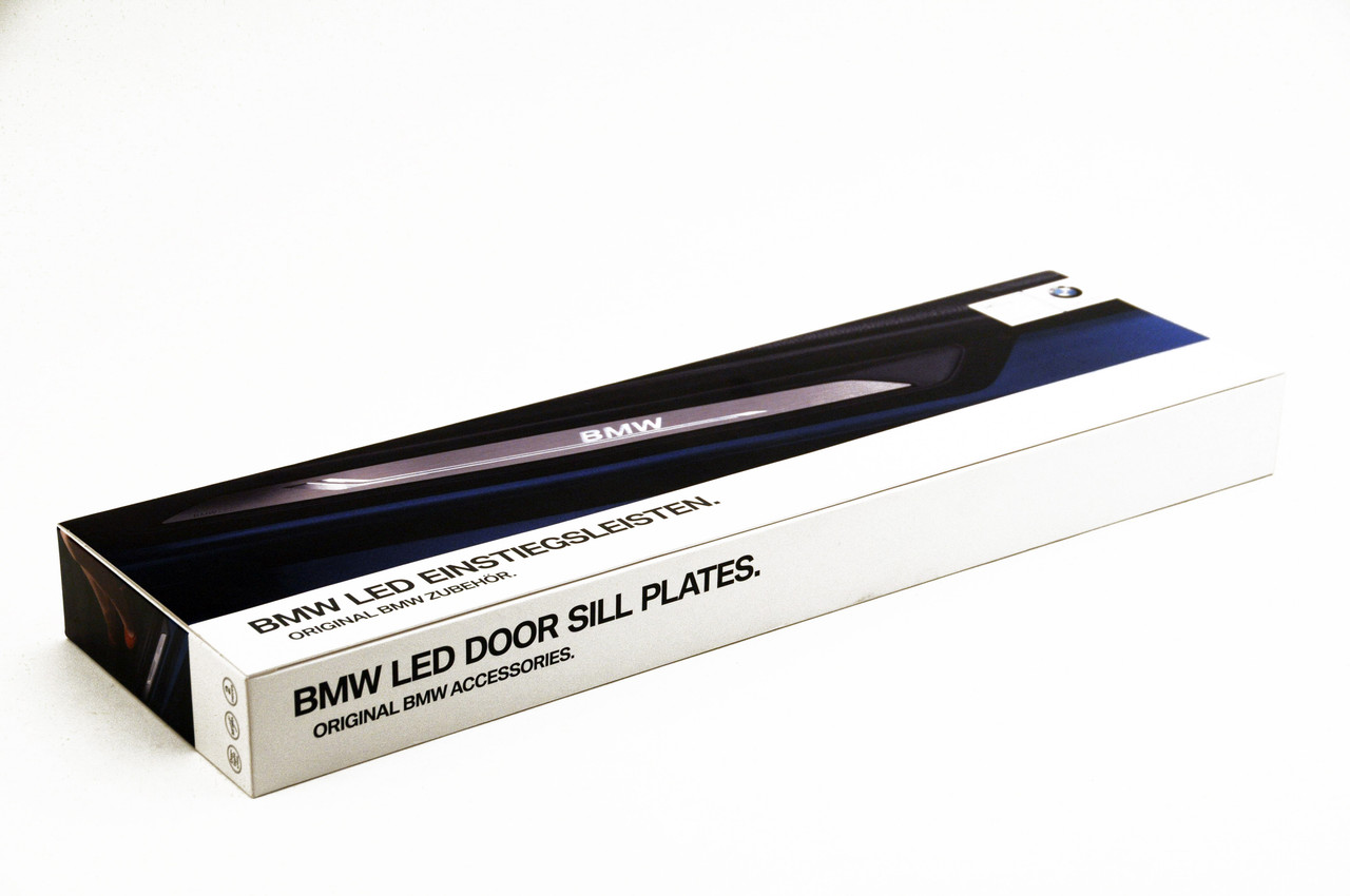 Genuine BMW Illuminated Door Sills 51472408857