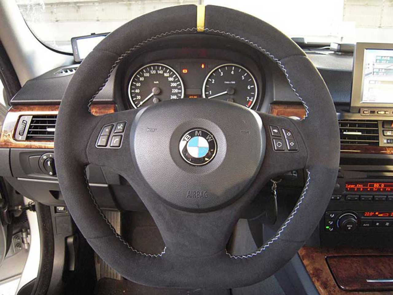 Genuine Bmw Performance Alcantara Steering Wheel E90 E91