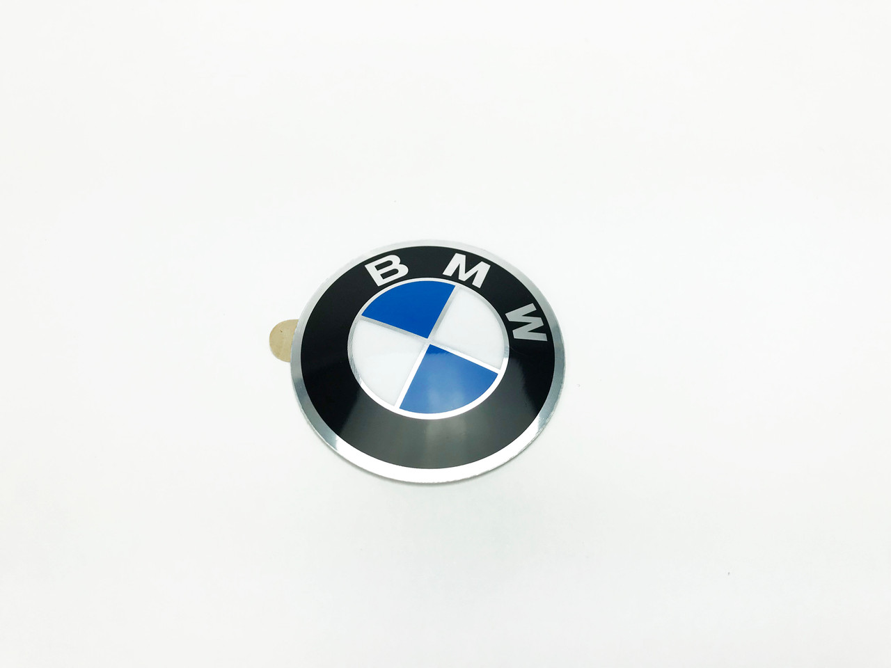 Genuine BMW Steering Wheel Airbag Roundel Emblem, 45mm Self-Adhesive