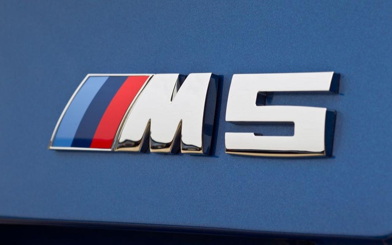 Genuine Black BMW 650i Logo Emblem Badge Trunk Lid OEM M Performance F06 F12 F13