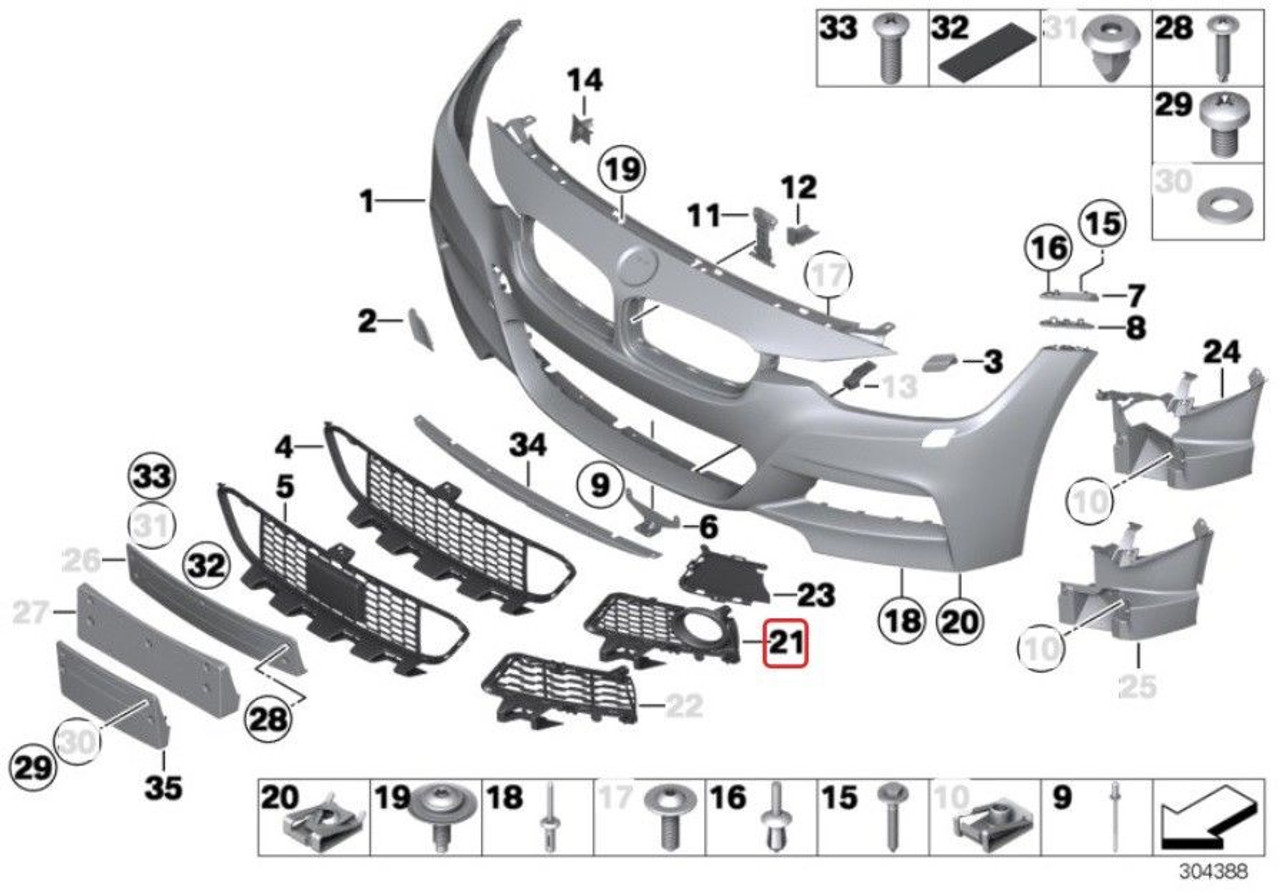 """BMW E53 X5 2000-2003 Genuine Front Bumper Tow Hook Cover /""""Towing Eye Flap/"""" NEW"""