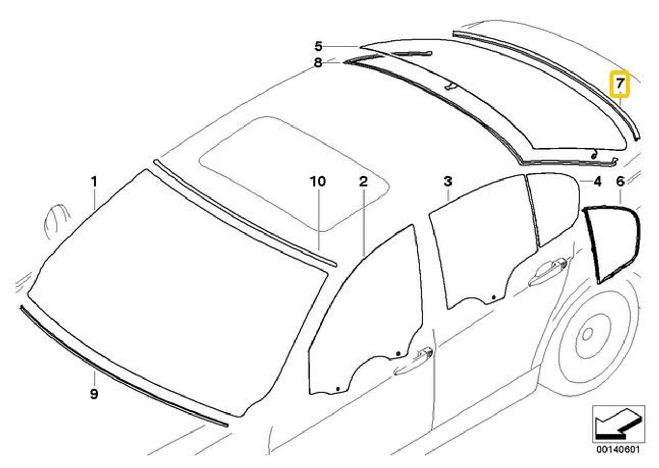 Car Auto Mouldings Gear Shift Cover Decor For BMW E90 E91 E60 E61 3 Series Black