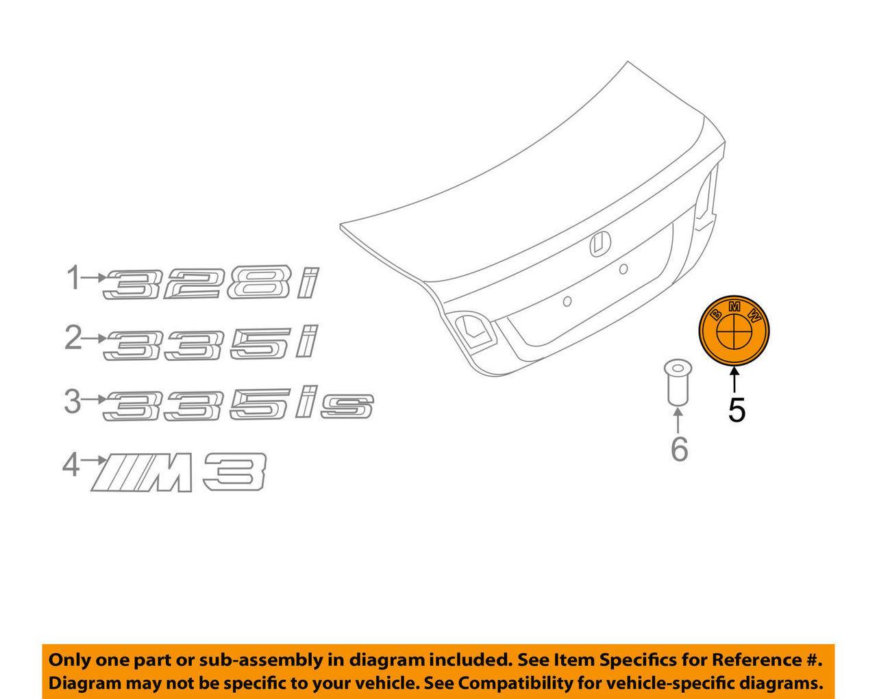Vorsteiner FBMV-E39-002-B Black Embroidered Velour Trunk Mat