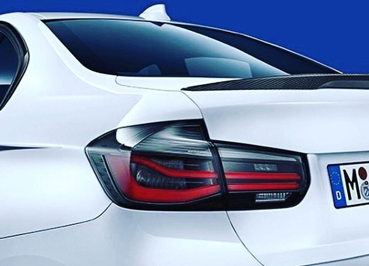 BMW Black Line Tail Lights Set - F30 3-Series, 63212450105
