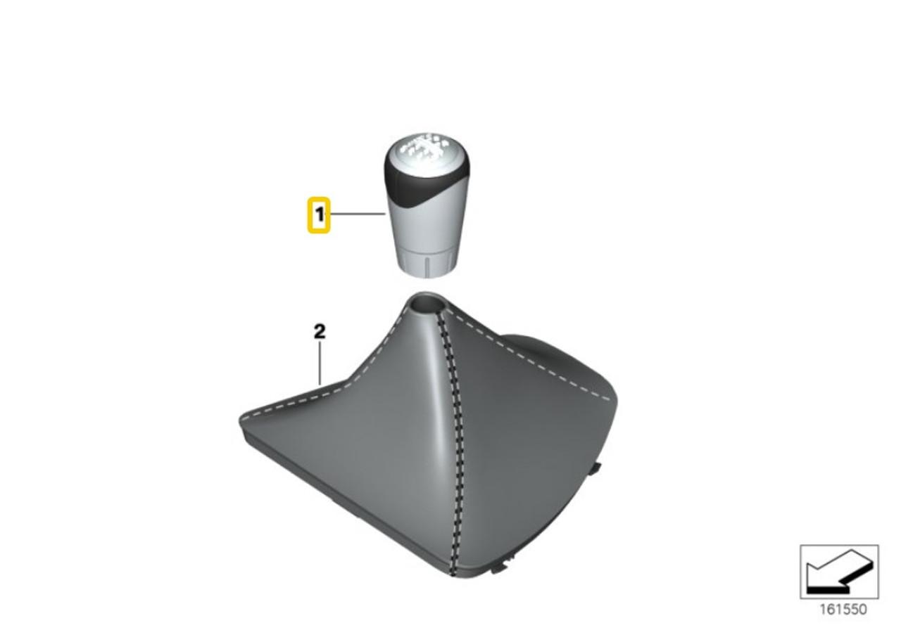 BMW Performance Manual Shift Knob - 5 Speed