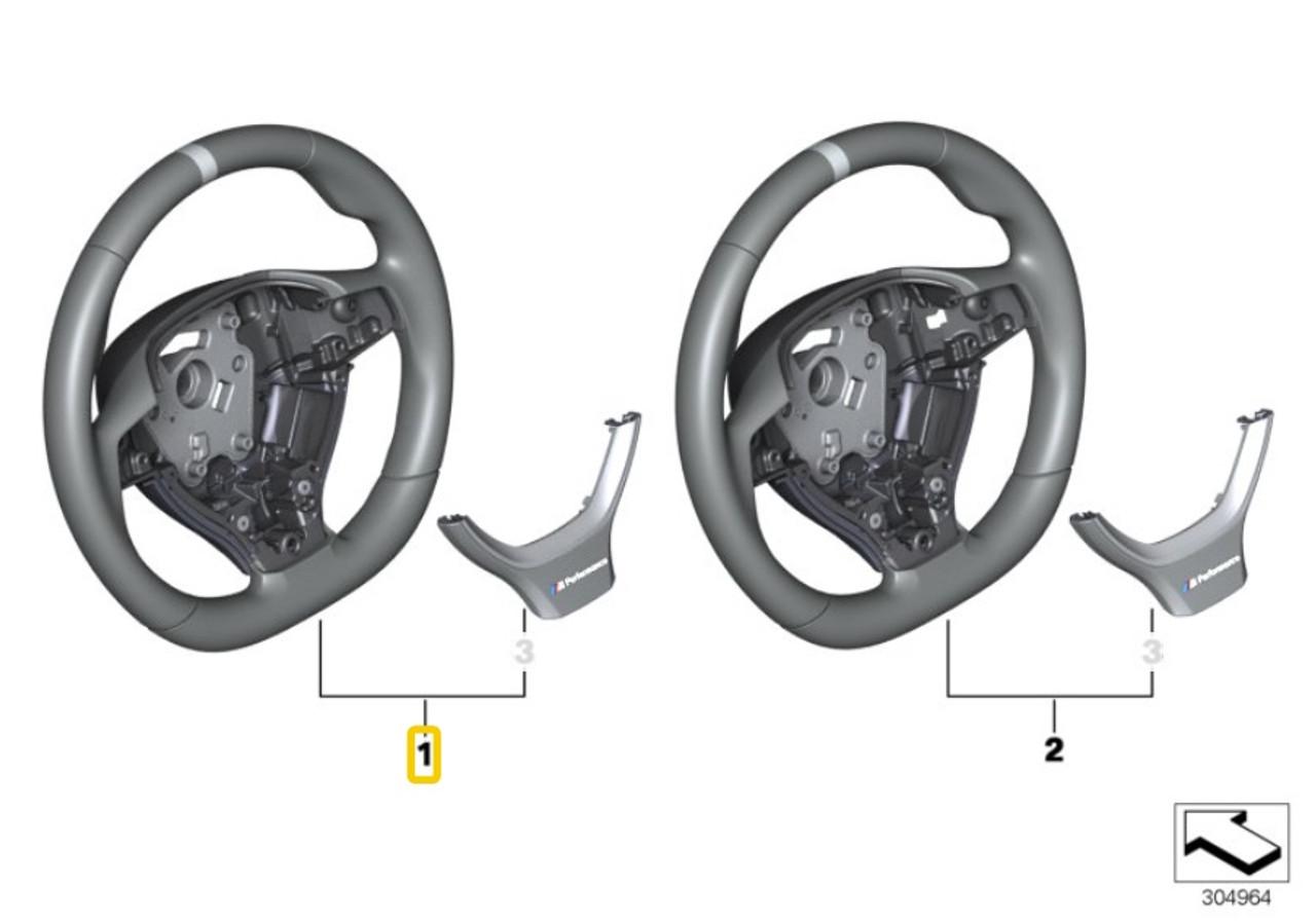 Genuine BMW M Performance Steering Wheel