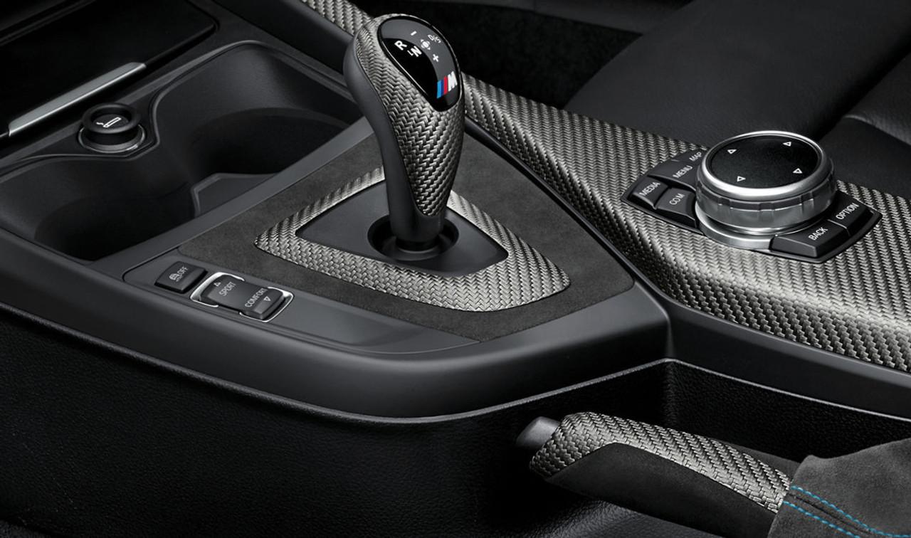 Genuine BMW M Performance Carbon & Alcantara Trim Kit