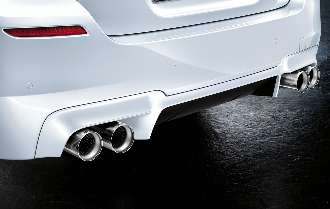 Genuine BMW M Performance Titanium Exhaust Tip - Priced Each 18302348836