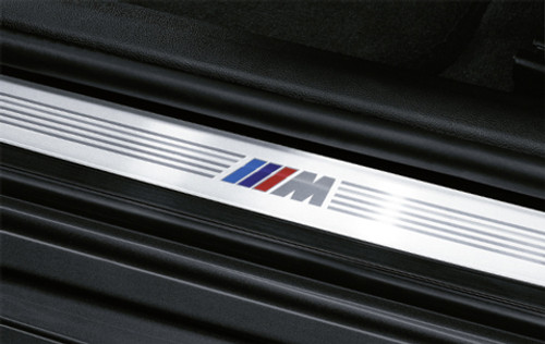 BMW M Door Sill Strip for E90, E91, set of 4