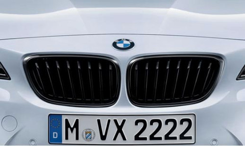 BMW M Performance Black Kidney Grille, F22 F23 2 Series