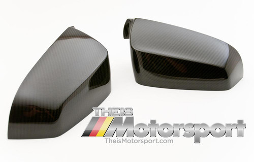 BMW Carbon Fiber Side Mirror Covers, Set for 5, 6, and 7 Series