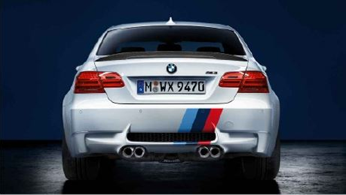 BMW M Performance M3 Front/Rear Tri-Color Stripe Decal