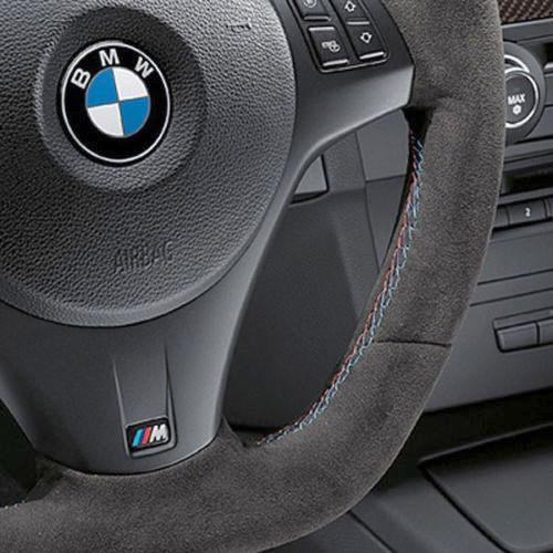 BMW M Performance Steering Wheel, Alcantara with Blue Stripe