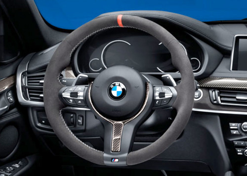 BMW M Performance Alcantara Steering Wheel