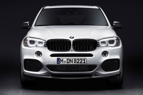 BMW M Performance Black Kidney Grille SET for X5, X6