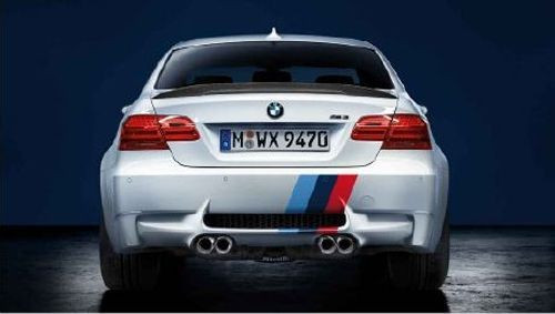 BMW M Performance M3 Tri-Color M Stripe Decal Set