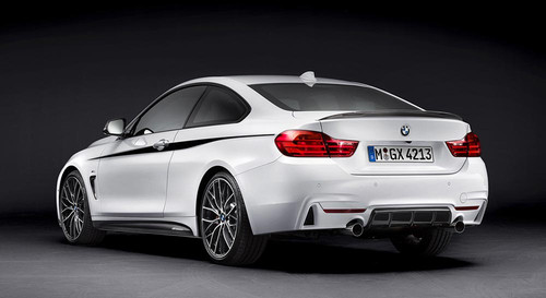 BMW M Performance Rear Deck Lip Spoiler for F32