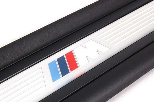 BMW Stainless M Logo Door Sills for E92, E93