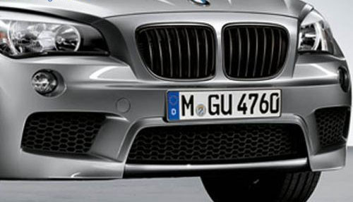 BMW M Performance Black Kidney Grille E84 X1