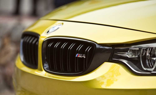 BMW Performance Black Kidney Grille Set for M4