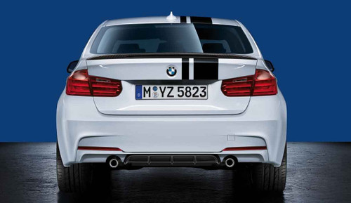 BMW Carbon Fiber Rear Deck Spoiler, F30, F80 M3