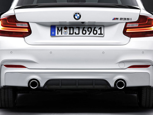 BMW M Performance Muffler Exhaust, M235i M235iX