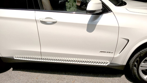 BMW Aluminum Running Boards - X5 F15