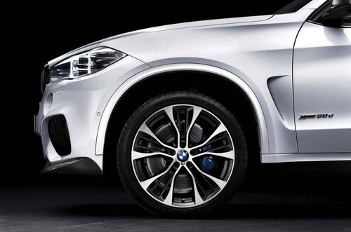 BMW M Performance Brake System, F15 X5, F16 X6 - Blue