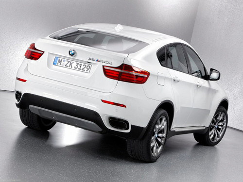 BMW Aluminum Running Boards - X6 E71