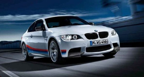 BMW M Performance M3 Side Tri-Color Stripe Decal