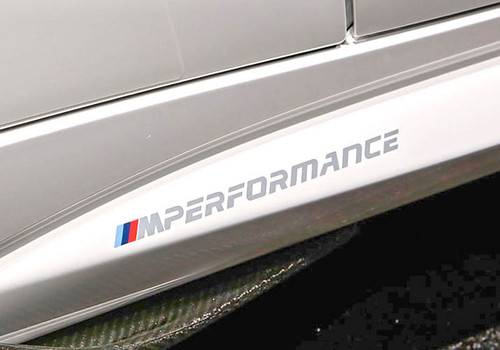 BMW M Performance Decal Set for M2 F87