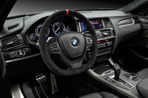 BMW Performance Alcantara & Carbon Fiber Steering Wheel, for shift paddles