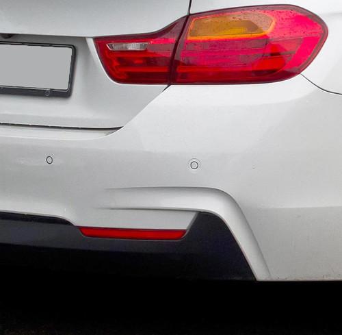 Mineral Grey BMW F32//F33//F36 4-Series AutoTecknic Painted Bumper Reflectors